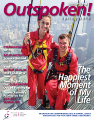 Click here to view the 2018 Spring edition of Outspoken! magazine